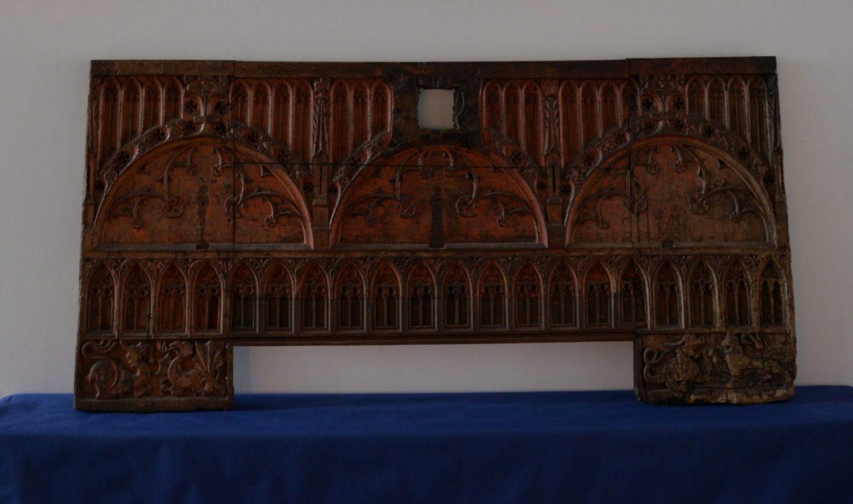 Truhenschauseite, Lüneburg, um 1500, Museum Lüneburg (Leihgabe der Heinemann-Erben)