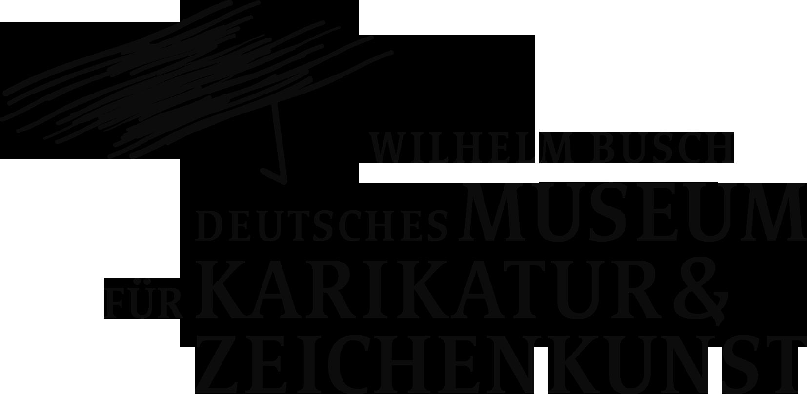 Logo Wilhelm Busch – Deutsches Museum für Karikatur & Zeichenkunst