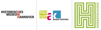Logo Museen für Kulturgeschichte Hannover: Historisches Museum, Museum August Kestner, Museum Schloss Herrenhausen