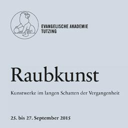 """Logo Tagung """"Raubkunst"""""""