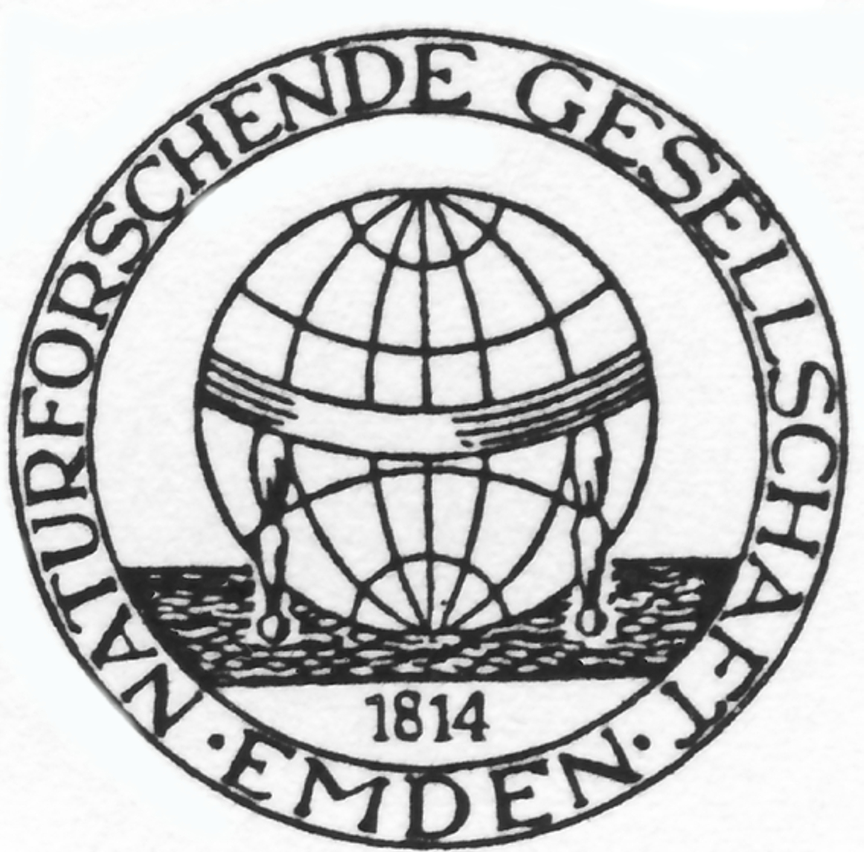 Logo Naturforschende Gesellschaft zu Emden von 1814
